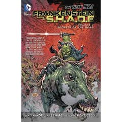 Frankenstein, Agent of S.H.A.D.E. Vol. 2: Son of Satan's Ring (The New 52)