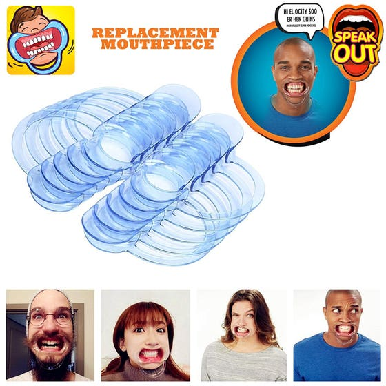 5 Extra Mouthpieces For Speak Out