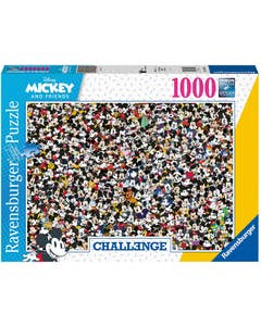 Mickey Mouse Challenge Puzzle (1000)