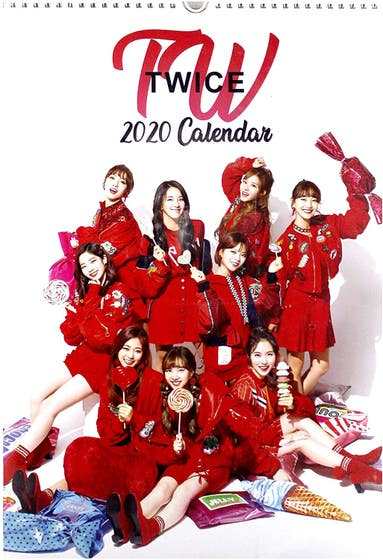 Twice 2021 Unofficial Calendar