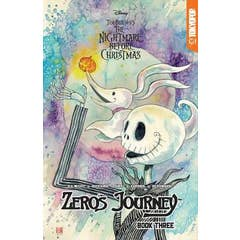 Disney Manga: Tim Burton's The Nightmare Before Christmas -- Zero's Journey Graphic Novel Book 3 (official full-color graphic novel, collects single chapter comic book issues #10 - #14)