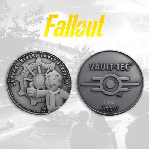 Fallout Limited Edition Collectible Coin
