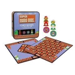 Super Mario Bros Collector's Edition Checkers