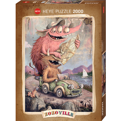 Road Tripping Puzzle (2000)