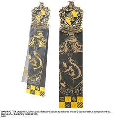 House Hufflepuff Crest Bookmark