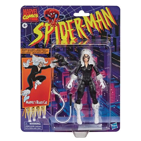 Spider-man Vintage Black Cat 6in Af Cs