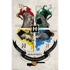 Animal Crests Poster 61x91,5 cm