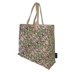 Mandalorian and Child Cotton Handbag