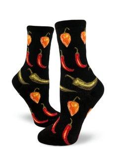 Hot Chili Peppers Women's Socks