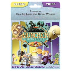 Munchkin Collectible Card Game: Cleric & Thief Starter Set