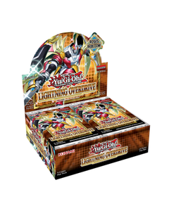 Lightning Overdrive Booster Display Box