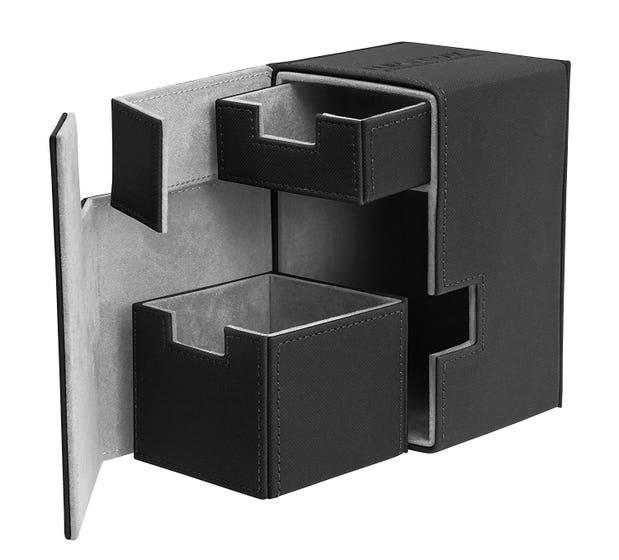 XenoSkin Flip 'n' Tray Black Deck Case (100+)