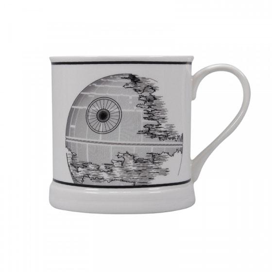 Death Star Vintage Mug