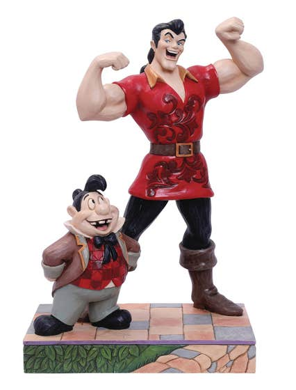 Disney Beauty & the Beast Gaston And Lefou 8.66in Fig