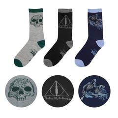 Deathly Hallows Socks 3-Pack