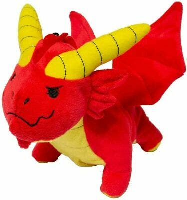 Red Dragon Plush Gamer Pouch