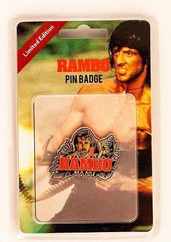 Rambo Limited Edition Pin Badge