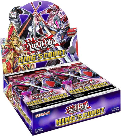 King's Court Booster Display Box