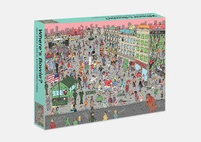 Where's Bowie?: David Bowie in Berlin: 500 piece jigsaw puzzle