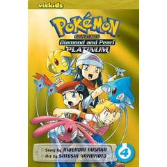 Pokemon Adventures: Diamond and Pearl/Platinum, Vol. 4