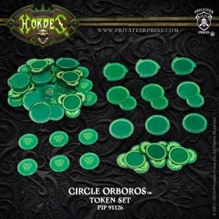 Circle Orboros Token Set