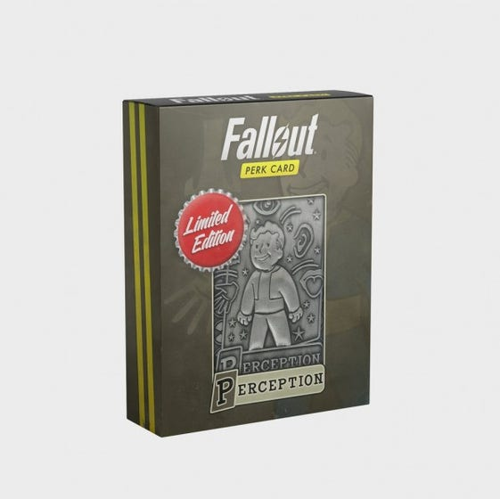 Perception Fallout Limited Edition Perk Card