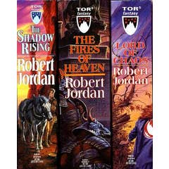 The Wheel of Time, Boxed Set, Books 4-6: The Shadow Rising, The Fires of Heaven, Lord of Chaos ( Wheel of Time )
