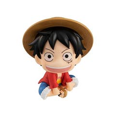 Look Up Ser One Piece Monkey D Luffy Pvc Fig