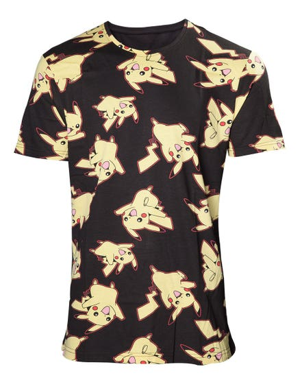 Pikachu All Over Print T-Shirt (M)