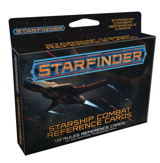 Starfinder Rpg Starship Combat Reference Cards Deck