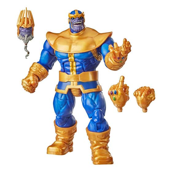 Marvel Legends Thanos 6in Deluxe Edition Af Cs