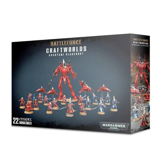 Battleforce Asuryani Bladehost