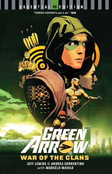 Green Arrow: War of the Clans: DC Essential Edition