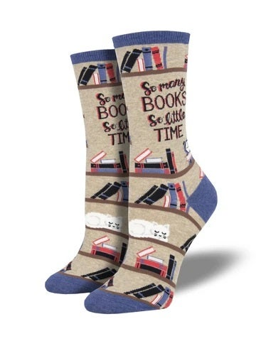 Time For a Good Book Socks (35-42)