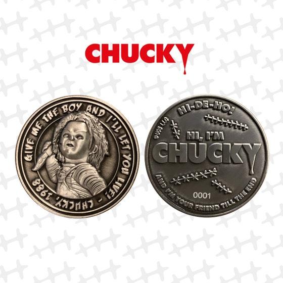 Chucky Limited Edition Collectible Coin
