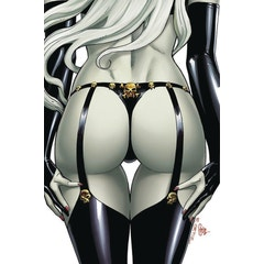 Lady Death Naughtier Limited Edition Artbook HC Cover C