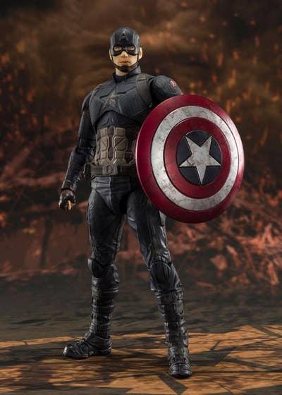 Captain America Final Battle S.H. Figuarts Action Figure 15 cm