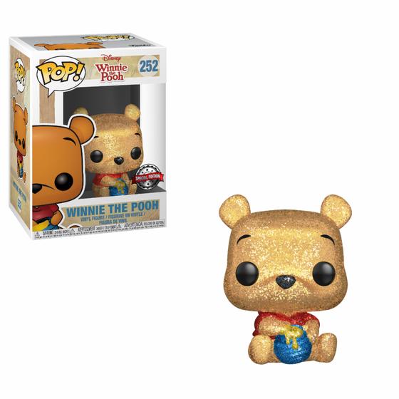 Winnie the Pooh Diamon Glitter POP! Disney Vinyl Figure