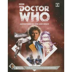 Dr Who Sixth Doctor Sourcebook