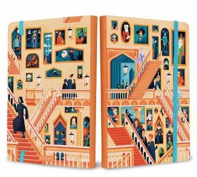 Harry Potter: Exploring Hogwarts The Grand Staircase Notebook