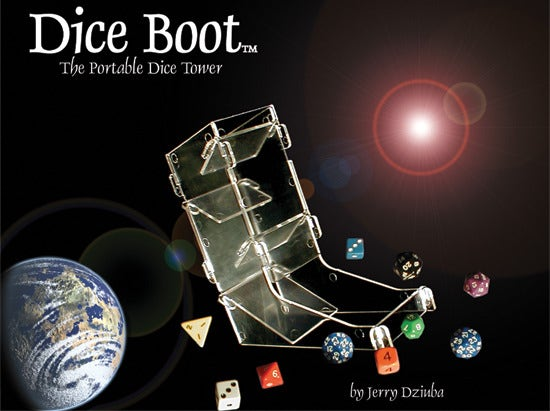 Dice Boot Portable Dice Tower