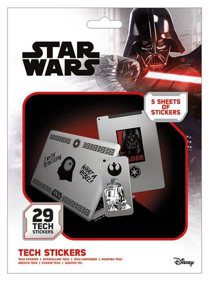 Force Tech Stickers