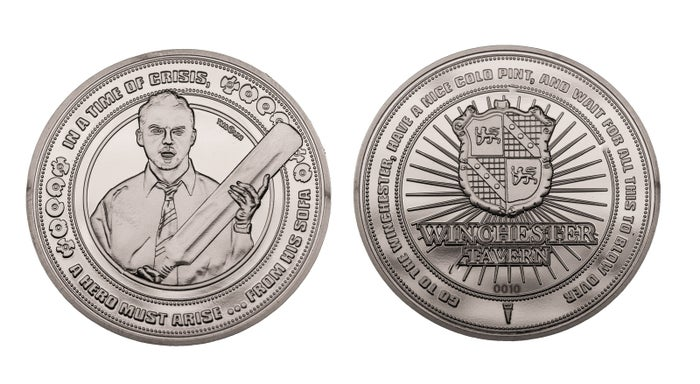 Shaun of the Dead Limited Edition Collectible Coin
