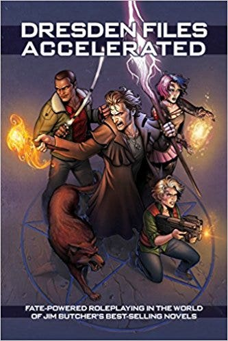 Dresden Files Accelerated HC