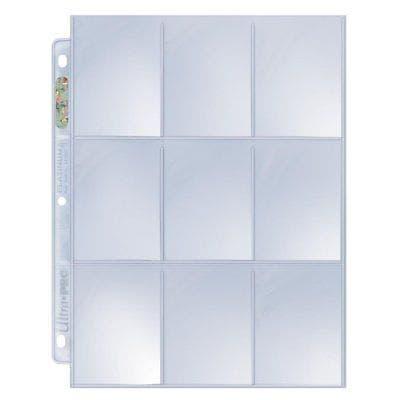 Platinum 9-Pocket Pages Side Loading (100)