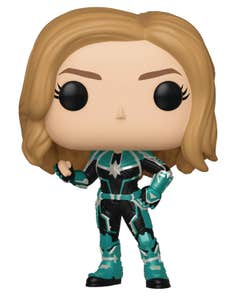 Pop Marvel Captain Marvel Vers Vinyl Fig