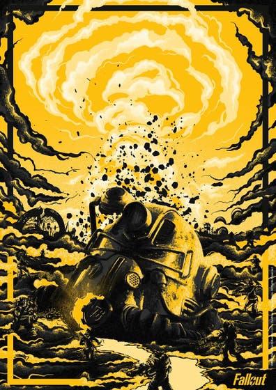 Ben Harman Fallout Art Limited Edtion Print