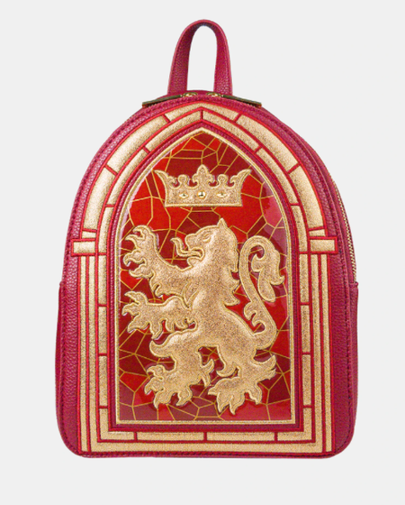 Gryffindor Stained Glass Window Backpack