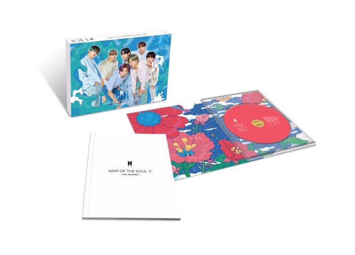 Map of the Soul: 7 the Journey Limited Edition Ver. D JP Album