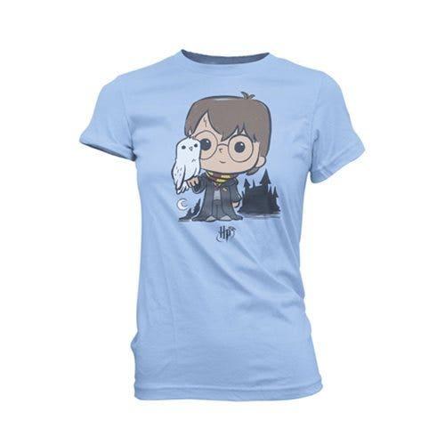 Harry w/ Hedwig Super Cute TEE Women's T-Shirt (L)